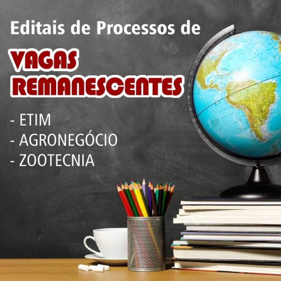 INSCRIÇÕES PARA O PROCESSO DE VAGAS REMANESCENTES