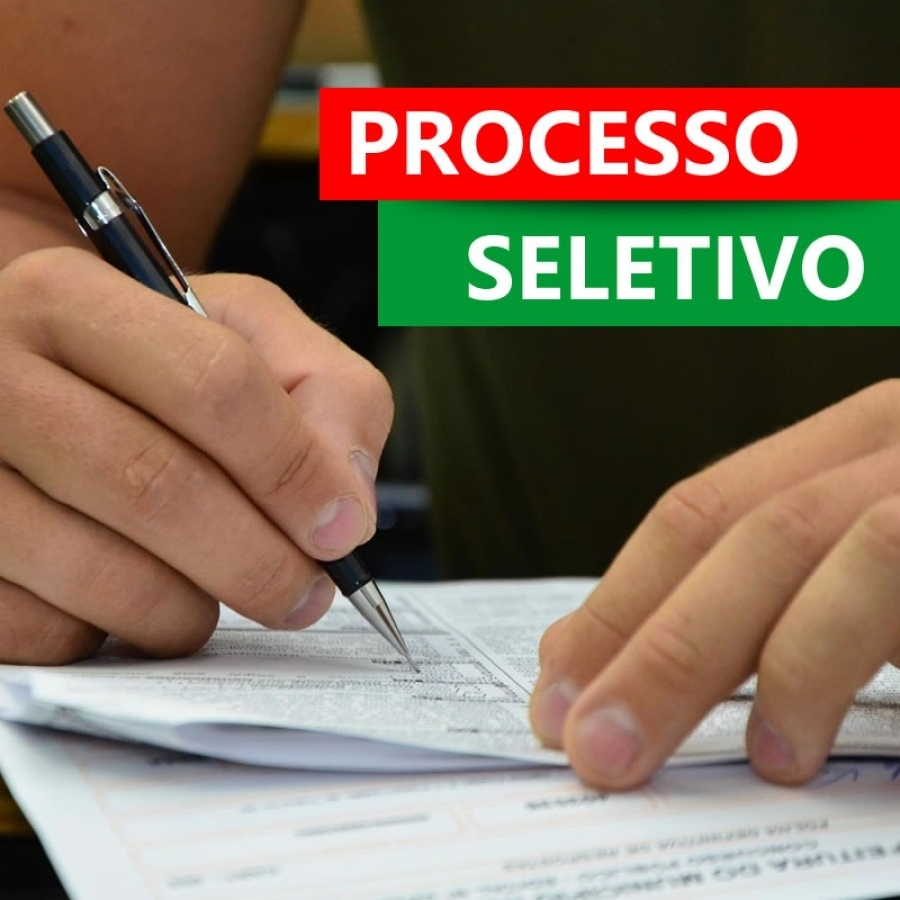 NOVO PROCESSO SELETIVO DE PROFESSORES !!