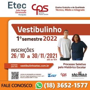 VESTIBULINHO 1º SEMESTRE - 2019